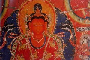 Bhuddha Amitabha in red
