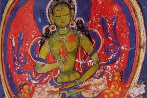 Bhuddha Amogsidhi in famil mani