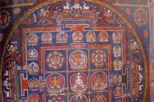 femal  manifestation Bhuddha Mandala