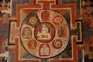 Five Bhuddha mandala