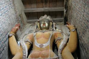 Future Bhuddha in Alchi