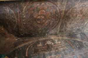 Mandala wall paintings