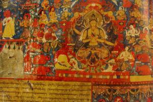 Manjushri in mandala